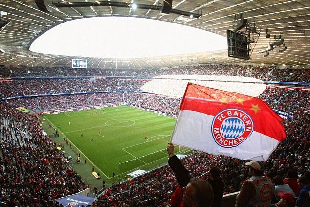 MUNICH, GERMANY - MARCH 22:  A general view of the Allianz Arena is seen during the Bundesliga match between Bayern Munich and Bayer Leverkusen at the Allianz Arena on March 22, 2008 in Munich, Germany.  (Photo by Alexander Hassenstein/Bongarts/Getty Images)