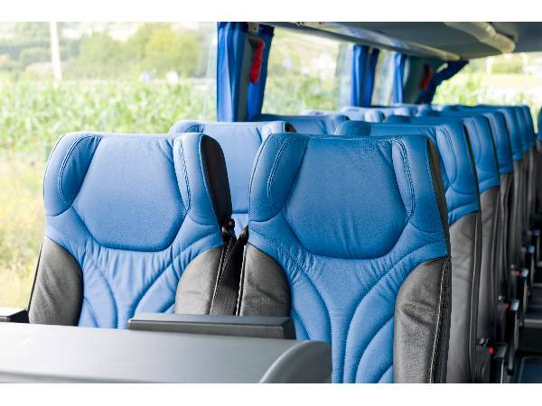 student agency sedadla autobusu