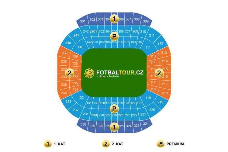 Manchester City Etihad Stadium mapa