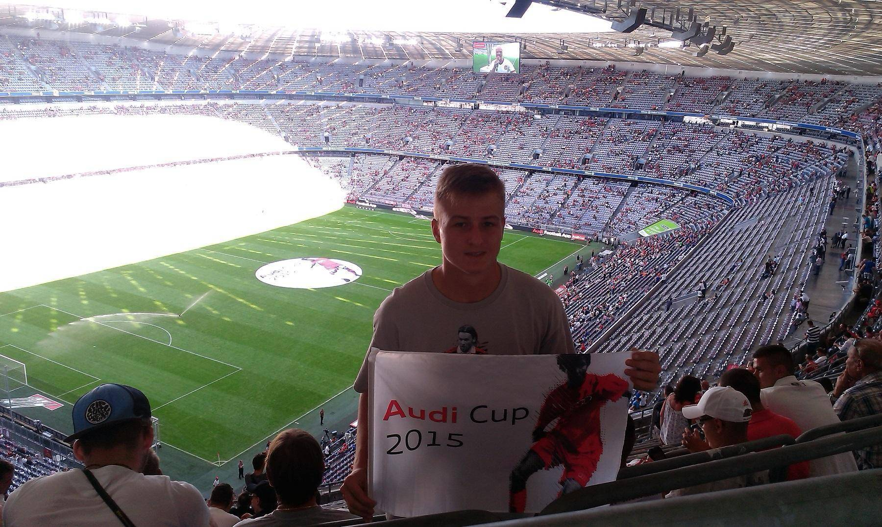 audicup allianz arena fanusik