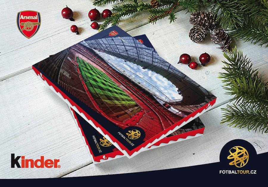 fotbalovy adventni kalendar arsenal