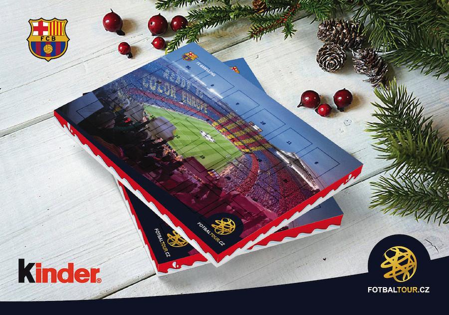 fotbalovy adventni kalendar barcelona