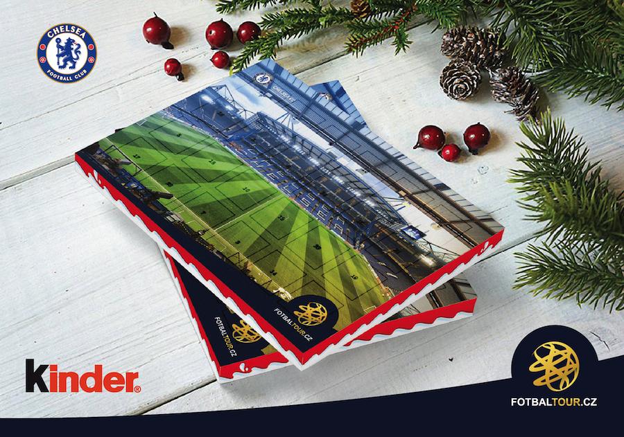 fotbalovy adventni kalendar chelsea