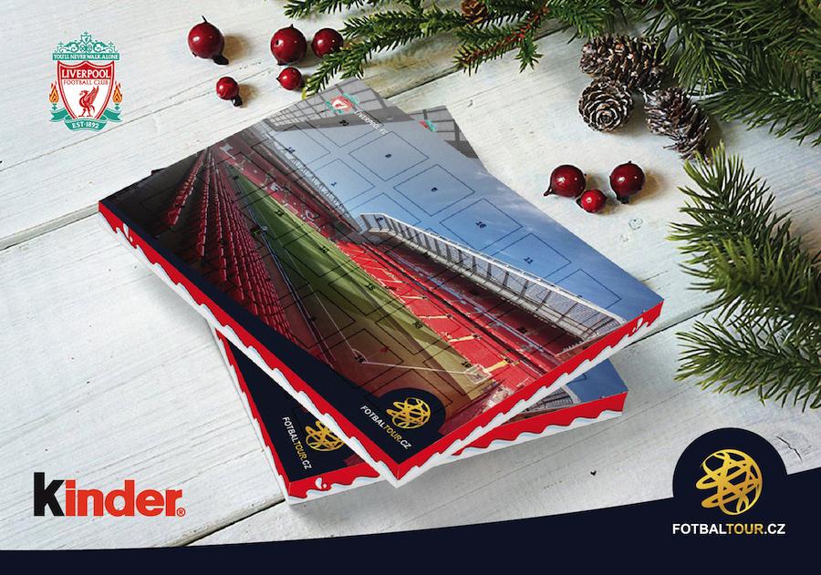 fotbalovy adventni kalendar liverpool anfield