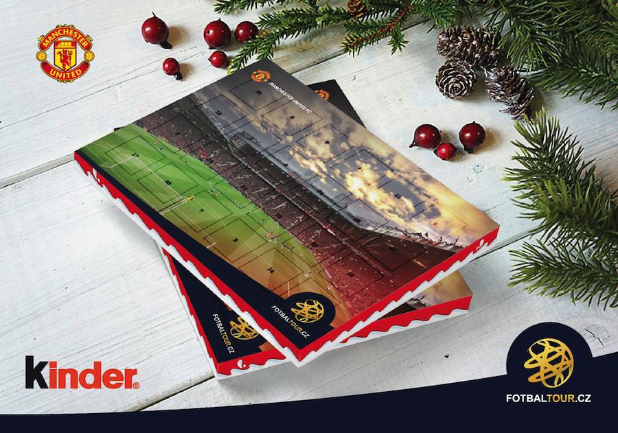 fotbalovy adventni kalendar manchester united