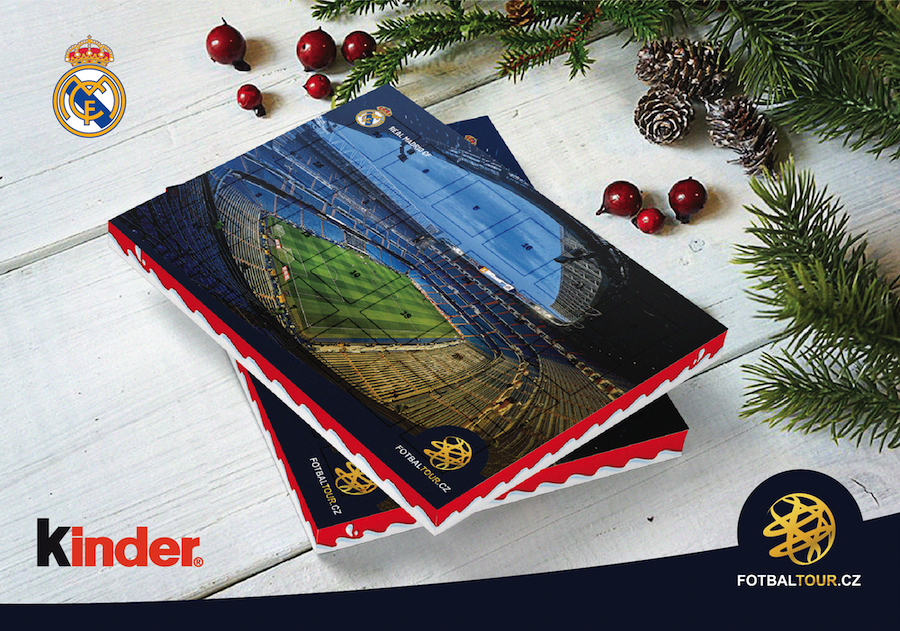 fotbalovy adventni kalendar real madrid