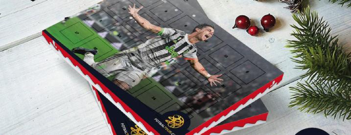 fotbalovy adventni kalendar cristiano ronaldo