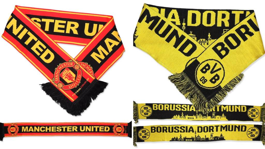 Šály United a Dortmund