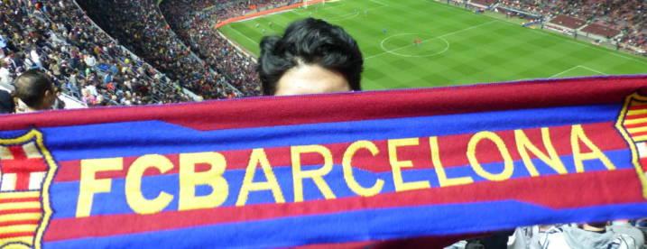 Barcelona šála titulka