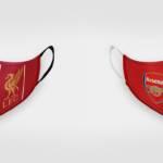 Roušky Liverpool & Arsenal