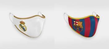 Roušky Real & Barca